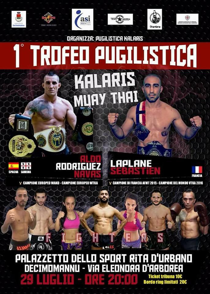 1 Trofeo Pugilistica Decimomannu - Muay Thai Aldo Rodriguez Navas