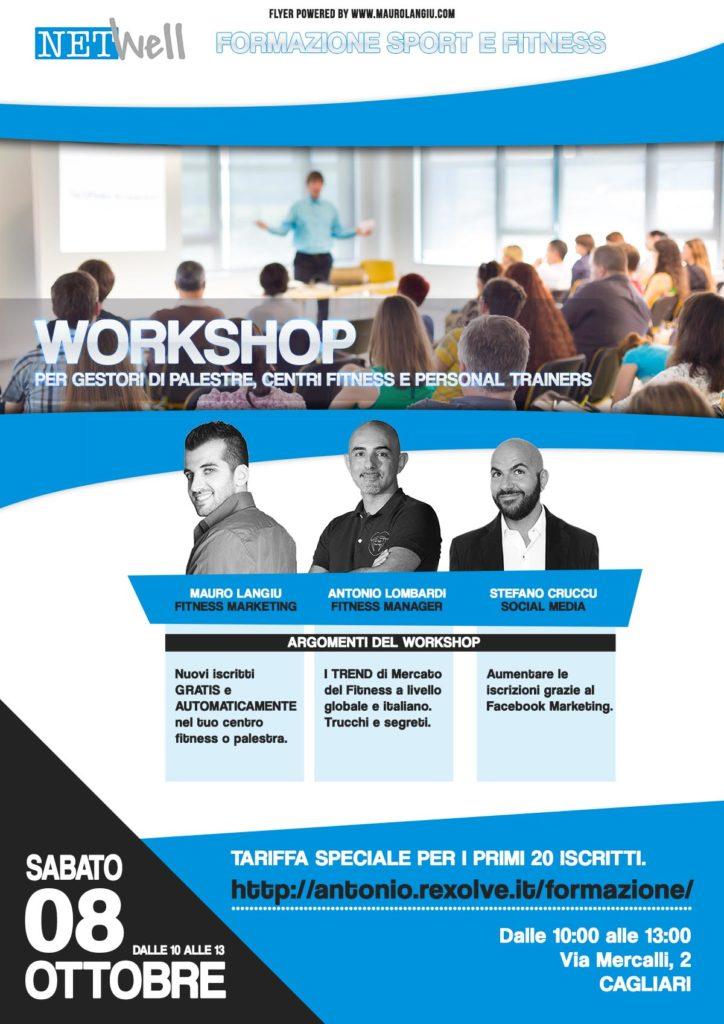 Rilancia la tua stagione - Workshop di formazione per centri sportivi, associazioni, fitness, istruttori e sportivi.