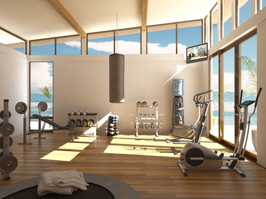 Come costruire palestra in casa home gym