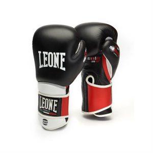 Guantone Da Boxe Leone 1947 Nero e Rosso
