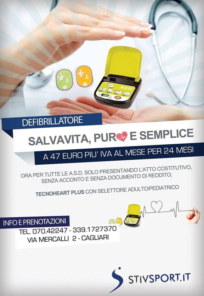 Defibrillatore semi automatico offerta