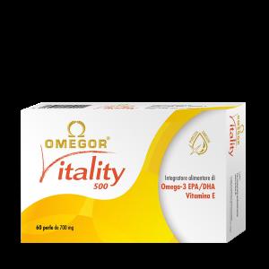 Integratore con omega 3 Omegor Vitality 1000 STIVBLOG