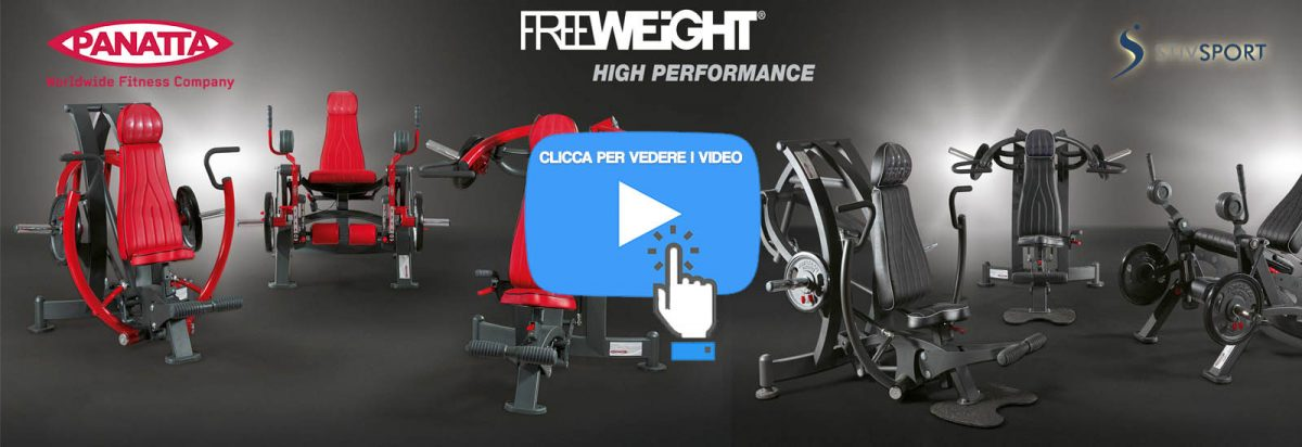 Video Free Weight Panatta