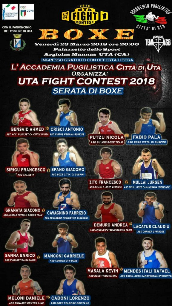 Uta Fight Contest Boxe