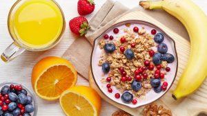 integratori e prodotti per la colazione fitness
