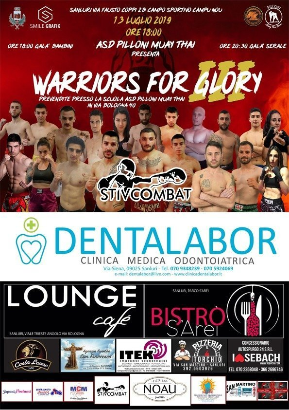 Warriors For Glory ASD Pilloni Muay Thai - Evento di Muay Thai