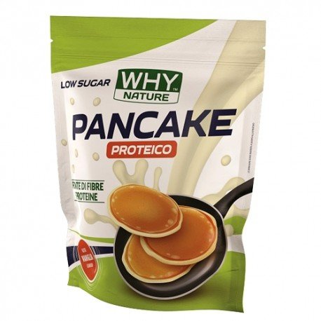 Why Nature pancake proteico low sugar sana alimentazione