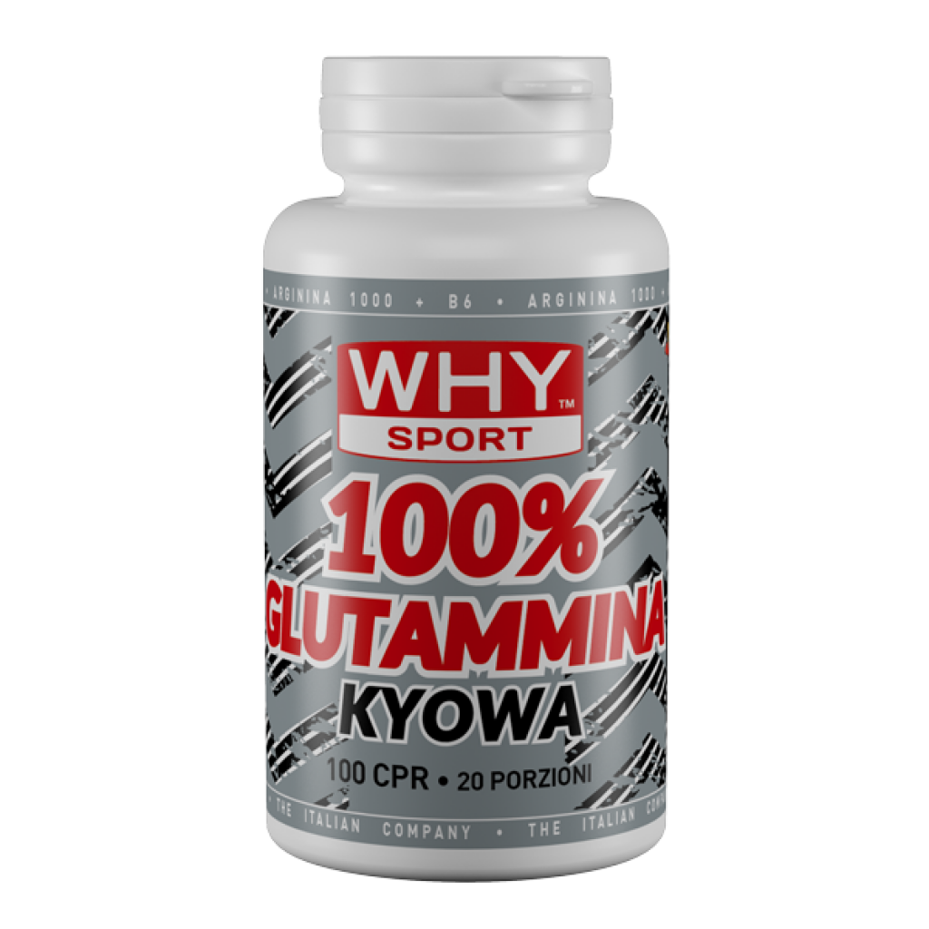 L-Glutamina Whysport post-workout