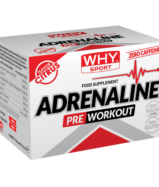 Why Sport pre-workout Adrenaline