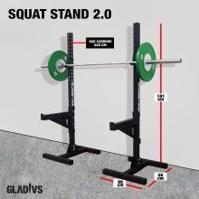 Squat Stand H Base