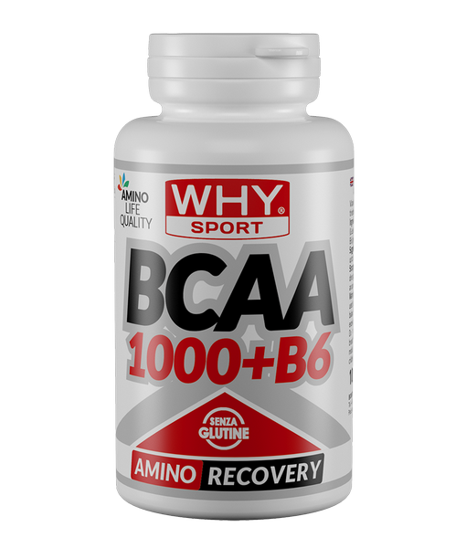 Aminoacidi Ramificati Bcaa 1000+B6